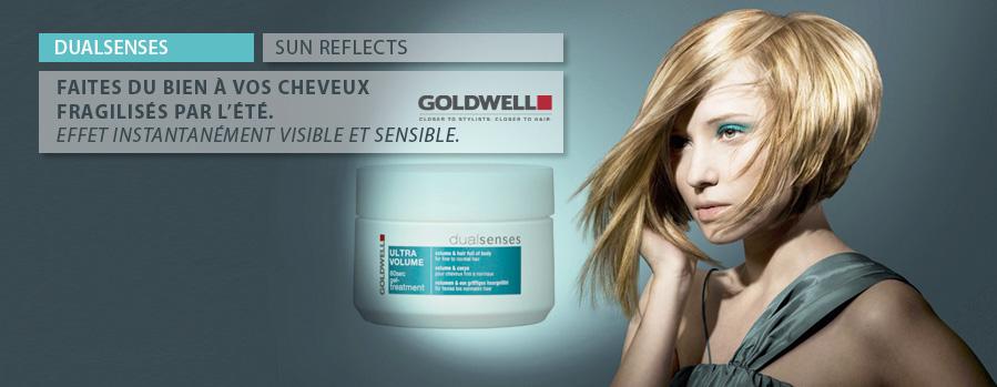 Produit Goldwell Dualsense Sun Reflects soins Bio