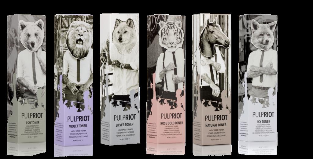 Coloration Pulp Riot toners grande vitesse